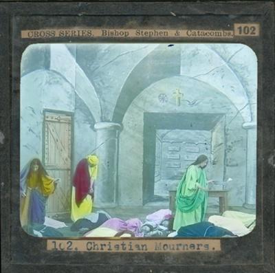 The Cross Series - partial set - slide 102/230; Limelight Department, Salvation Army, Melbourne, Australia; 1900-1908; HL.SA.00126