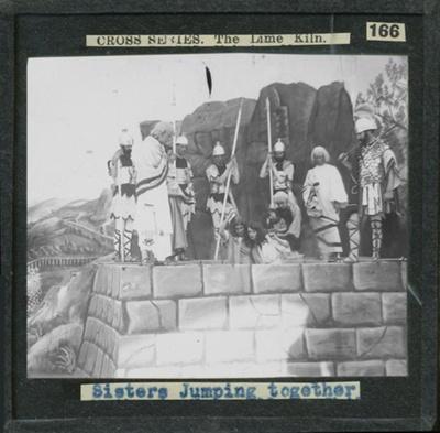 The Cross Series - partial set - slide 166/230; Limelight Department, Salvation Army, Melbourne, Australia; 1900-1908; HL.SA.00167