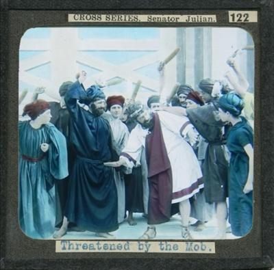 The Cross Series - partial set - slide 122/230; Limelight Department, Salvation Army, Melbourne, Australia; 1900-1908; HL.SA.00145