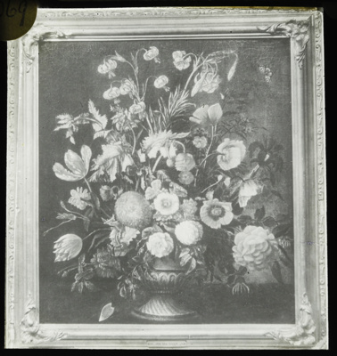 Lantern Slide - 'Flower Study', 1909-1930; 1909-1930; MV.MM.111696