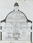 Lantern Slide - Plan of St Paul's Cathedral, 1909-1930; 1909-1930; MV.MM.111752