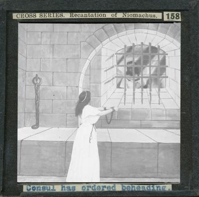 The Cross Series - partial set - slide 158/230; Limelight Department, Salvation Army, Melbourne, Australia; 1900-1908; HL.SA.00162