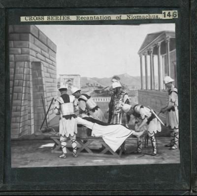 The Cross Series - partial set - slide 146/230; Limelight Department, Salvation Army, Melbourne, Australia; 1900-1908; HL.SA.00153