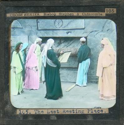 The Cross Series - partial set - slide 105/230; Limelight Department, Salvation Army, Melbourne, Australia; 1900-1908; HL.SA.00129