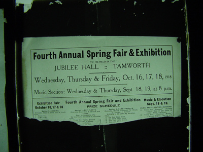 4th Annual Spring Fair, 1918-10-16; 1925-01-01; Ison66