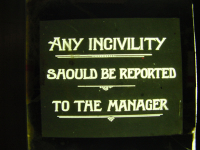 Any Incivility.; 1926-01-01; Ison87