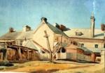 Untitled (Fitzroy Hotel Yard); Alfred T. Clint 1879-1936; c1923; F45