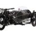 1930 AJS R8 & Zepplin Style Sidecar ; A J Stevens & Co; 1930; CMM70