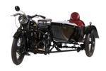 1929 AJS M2 & Dustings Sidecar; A J Stevens & Co; 1929; CMM144