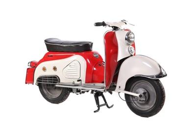 1960 Zündapp Bella R204 ; Zündapp; 1960; CMM171