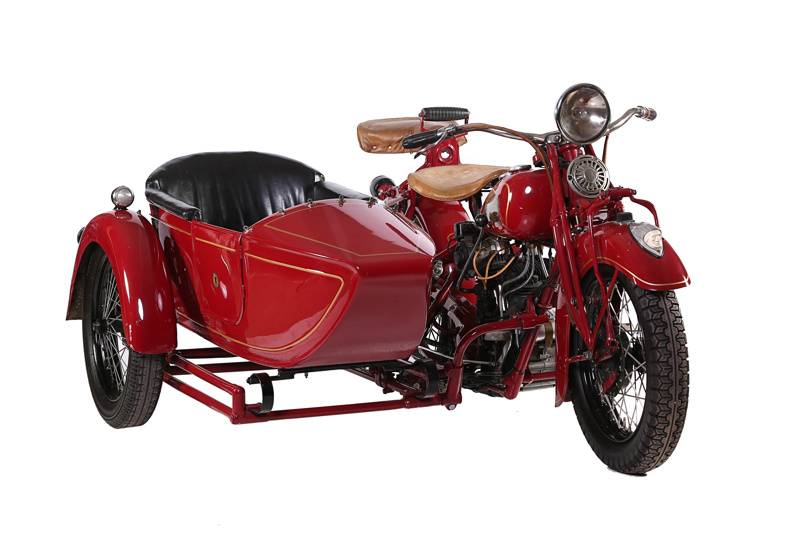 1936 Indian Standard Scout & Sidecar