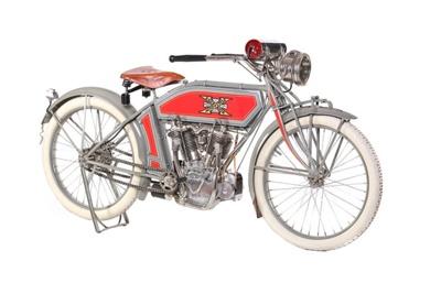 1913 Excelsior 7-C ; Excelsior Motor Manufacturing & Supply Company; 1913; CMM182