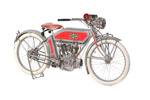 1913 Excelsior 7-C ; Excelsior Motor Manufacturing & Supply Company; 1913; CMM182