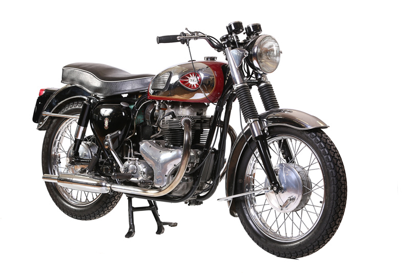 1960 BSA A10 Super Rocket Birmingham Small Arms Co CMM31 FromClassic Motorcycle Mecca