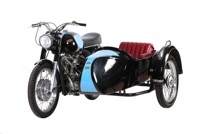 1958 Victoria Parilla and Steib sidecar ; Victoria; 1958; CMM305