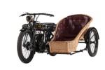 1928 AJS K12 & Wicker Sidecar ; A J Stevens & Co; 1928; CMM205