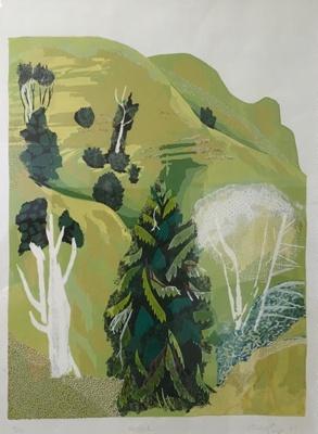Hillside; Quentin Roper; 1987; 2210