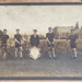 Large photograph of NABC cyclists with the NCU Challenge Shield; 1907; NABC.2017.001
