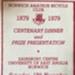 1979 centenary programme