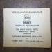 90th Annual Dinner tickets; 1969; NABC.2019.8
