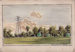 """Watercolour painting labelled """"Wanstead Park""""; ARN0173"""