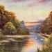 "Postcard: ""Heronry Lake, Wanstead Park""; ARN0256"