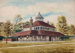 Watercolour painting showing the Refreshment Chalet, Wanstead Park; ARN0172