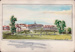 """Watercolour painting labelled """"Wanstead Park""""; ARN0325"""