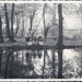 Photograph of a family group by the Ornamental Water; 1957; ARN0265