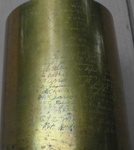 105mm M14 Type 1 Engraved Shell Case - Bossolo Inciso 105mm M14 Type 1; 00001gto