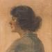 'Profile of a Woman'; Hugh Ramsay; 1905; AC 0360