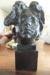 'Tete de Genie du repos eternel (Etude pour la Tombe de Puvis De Chavannes)'; Auguste Rodin; cast 1983; AC 0042