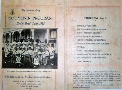 Souvenir Program