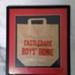Framed showbag for Castledare Boys' Home.; 2017.002