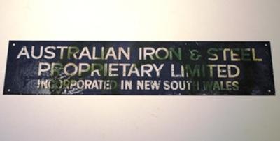2017.22_Australian_Iron_Steel_sign