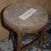 Milking stool; CW.4