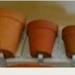 Plant pot, small x 3; Exler & Son, Avondale; Item 0177