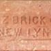 Brick; NZ Brick Co/New Lynn; Item 0152