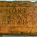 Brick; W. Hunt/Auckland; Item 0147