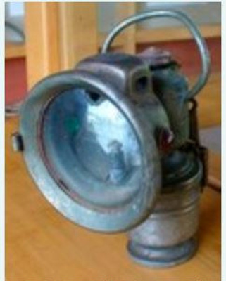 Panther De Luxe No 21 bicycle head-light