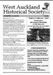 West Auckland Historical Society Newsletter 362; 2015-02 NL Jan-Feb