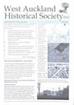 West Auckland Historical Society Newsletter 347; 2012-11 NL Nov-Dec