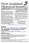 West Auckland Historical Society Newsletter 377; 2017-07 NL Jul-Aug