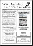 West Auckland Historical Society Newsletter 375