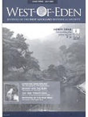 West of Eden; Issue 3; Journal of the West Auckland Historical Society Inc.