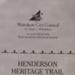 Henderson Heritage Trail brochure 2006