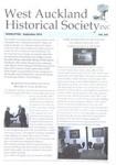 West Auckland Historical Society Newsletter 345; 2012-09 NL Sept