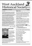 West Auckland Historical Society Newsletter 367; 2015-11 NL Nov-Dec