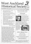 West Auckland Historical Society Newsletter 349; 2013-03 NL Mar-Apr