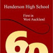 Henderson High School, First in West Auckland 1953-2013; L. Mountier